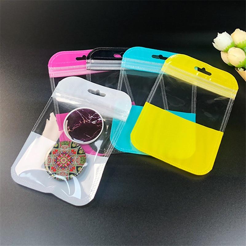1000 ชิ้น/ล็อต 11x13 ซม.สีสันสดใสซีล ziplock กระเป๋า Hang Hole อิเล็กทรอนิกส์อุปกรณ์เสริมถุงต่างๆกระเป๋า-ใน ถุงของขวัญและอุปกรณ์ห่อ จาก บ้านและสวน บน   3