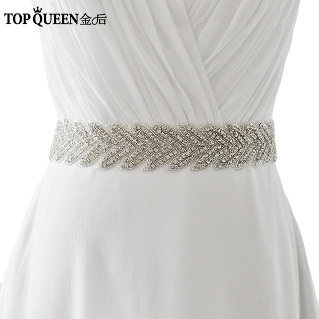 TOPQUEEN S238 Bridal Diamond Wedding belt wedding Sash women\'s ...