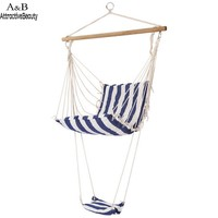 Homdox Leisure Swing Hammock Hanging Chair Outdoor Garden Patio Yard N40