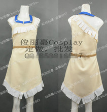 Anime princesa india Pocahontas vestido atractivo de la fantasía mujeres disfraces de Halloween Cosplay cualquier tamaño