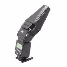 Универсальный Складной Вспышка speedlite Коническая Snoot Рассеиватель для Canon Nikon Yongnuo Флэш