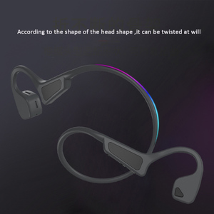 Image 4 - 블루투스 5.0 G18 무선 헤드폰 뼈 전도 이어폰 야외 스포츠 헤드셋 마이크 핸즈프리 헤드셋