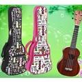 "Protable 21""23 ""26 inches tenor concert soprano ukulele small acoustic guitar bag case package Lanikai Luna Mahalo Ukes gig soft"