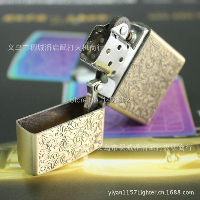 Hochwertige Tang Gras Bronze Mode Öl Petroleum Feuerzeuge winddicht - Haushaltswaren - Foto 3