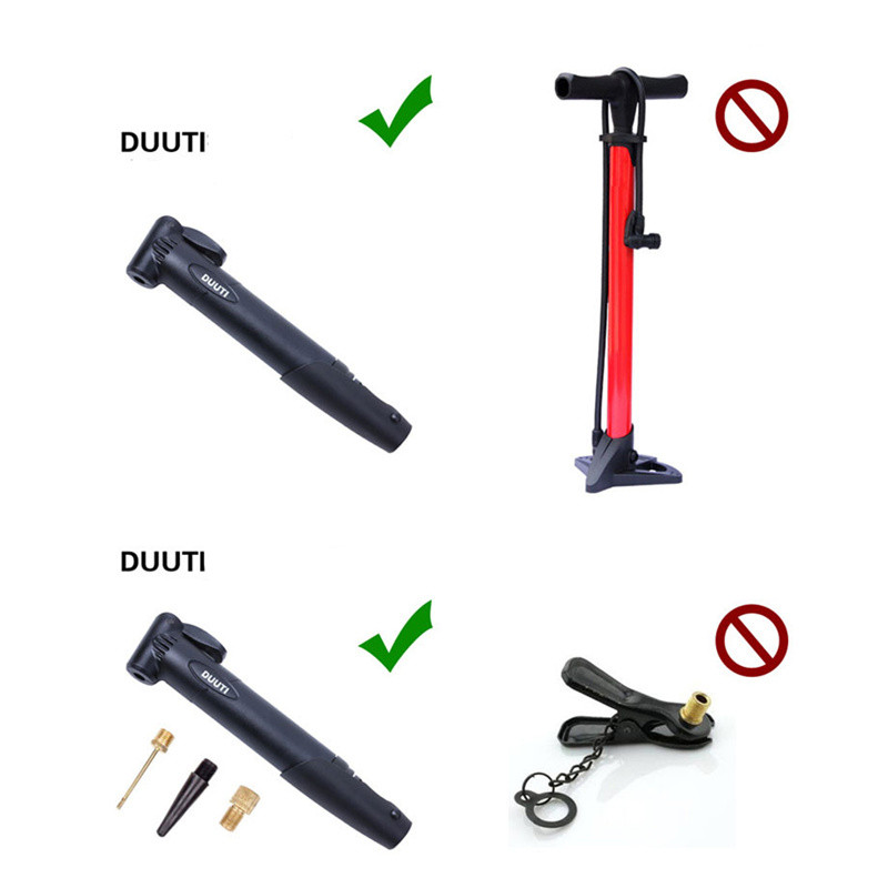 The Duuti™ Portable Bicycle Air Pump 15