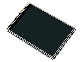 3.5inch RPi LCD (C), 480x320, 125MHz High-Speed SPI Touch Screen TFT LCD Designed for Raspberry Pi