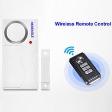 Wireless Remote Control Door Window Entry Security Sensor Al