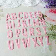 Eastshape A-Z Alphabet Stamps Cutting Dies New Arrive for Scrapbooking Album Decor Embossing Stencils Card Making DIY