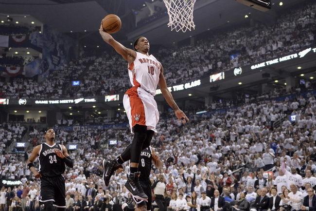 072 DeMar DeRozan- Toronto Raptor Basketball Player 36x24 Poster