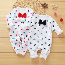 Spring Newborn Kids Baby Footies Boys Girls Camouflage Cotton Jumpsuit for 3 mon