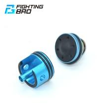FightingBro Stille Zylinder Kopf Kolben Kopf Für airsoft Ver.2 Getriebe M4 V3 AEG Zubehör Aluminium