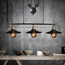 Промышленный подвесной светильник для спальни, винтажная лампа, Белая столовая, ресторанная лампа, современный подвесной светильник, s шнур, подвесной светильник ing