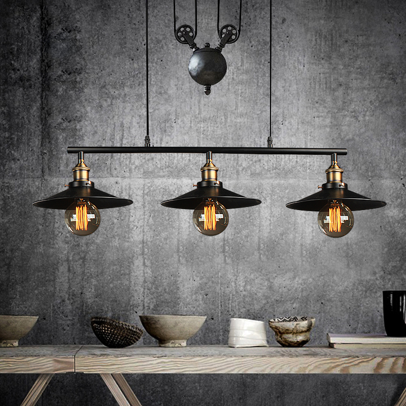 ФОТО industrial pendant light for bedroom vintage lamp white Dining Room restaurant lamps modern pendant lights cord Hanging lighting