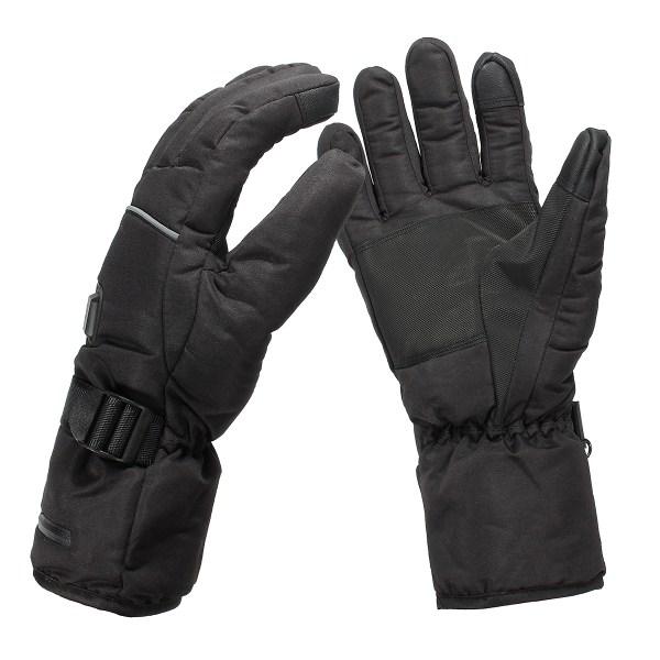 все цены на NEW Safurance Unisex Waterproof Heated Gloves Battery Powered Motorcycle Hunting Winter Warmer Workplace Safety онлайн