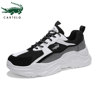 CARTELO sports and leisure casual man shoes non slip wear resistant breathable running shoes