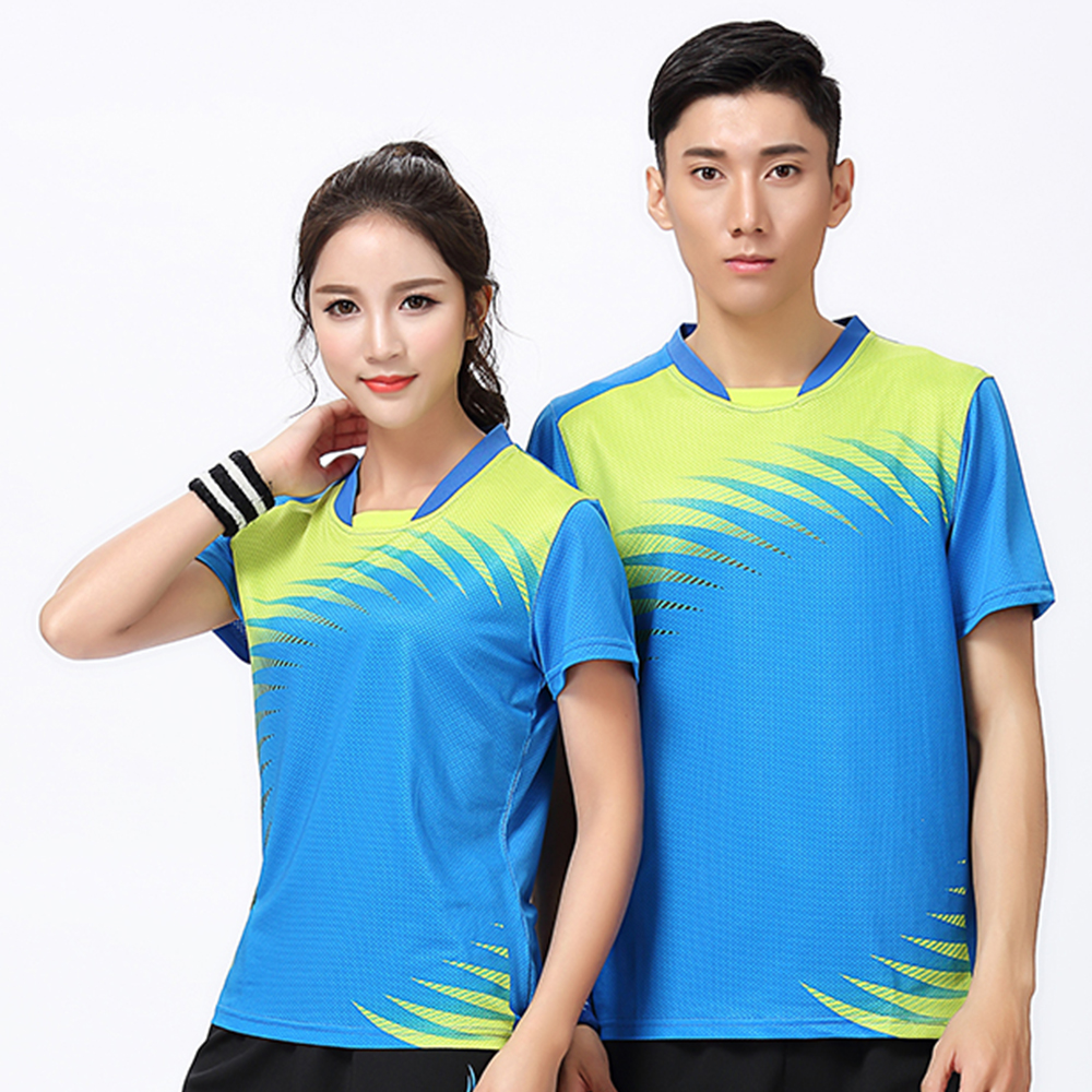 New Sports Badminton wear shirt Women/Mens , sports Tennis shirt , Table Tennis shirt , Quick dry sportswear shirt 8806