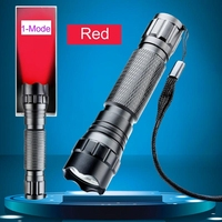 Best Quality 5W Red Color CREE LED 300 Lumen 1 Mode Flashlight Torch Lamp