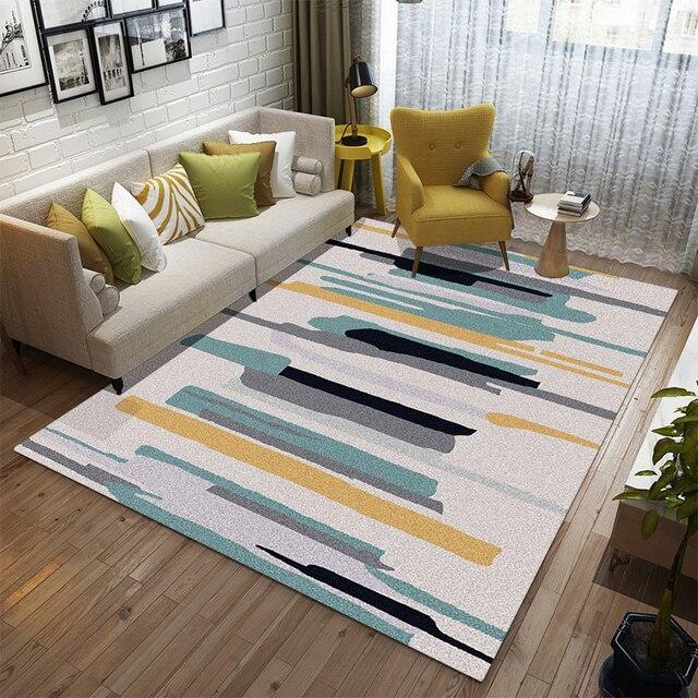 3D prints woonkamer sofa salontafel Kleed Slaapkamer studie moderne ...