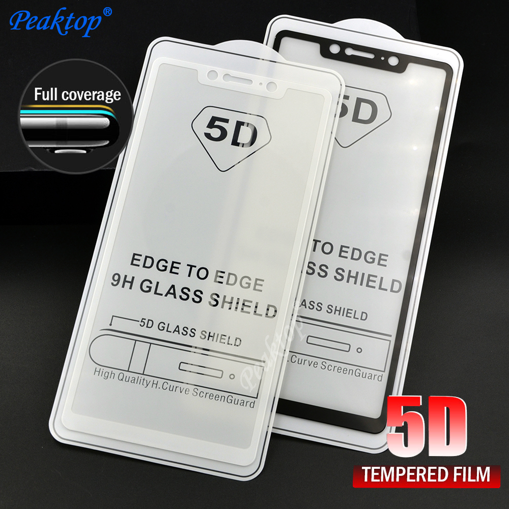 9H Tempered Glass For Xiaomi Redmi 4X 5 5 Plus 6 Pro 6A Redmi S2 Note 5 5A Screen Protector Toughened Full Cover glass Film