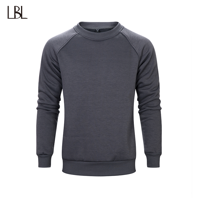 Casual Sweatshirts Men Jogger Hip Hop Streetwear Solid Mens Sweatshirt Fitness Clothes Mans Sportswear Bodybuilding US Size XXL