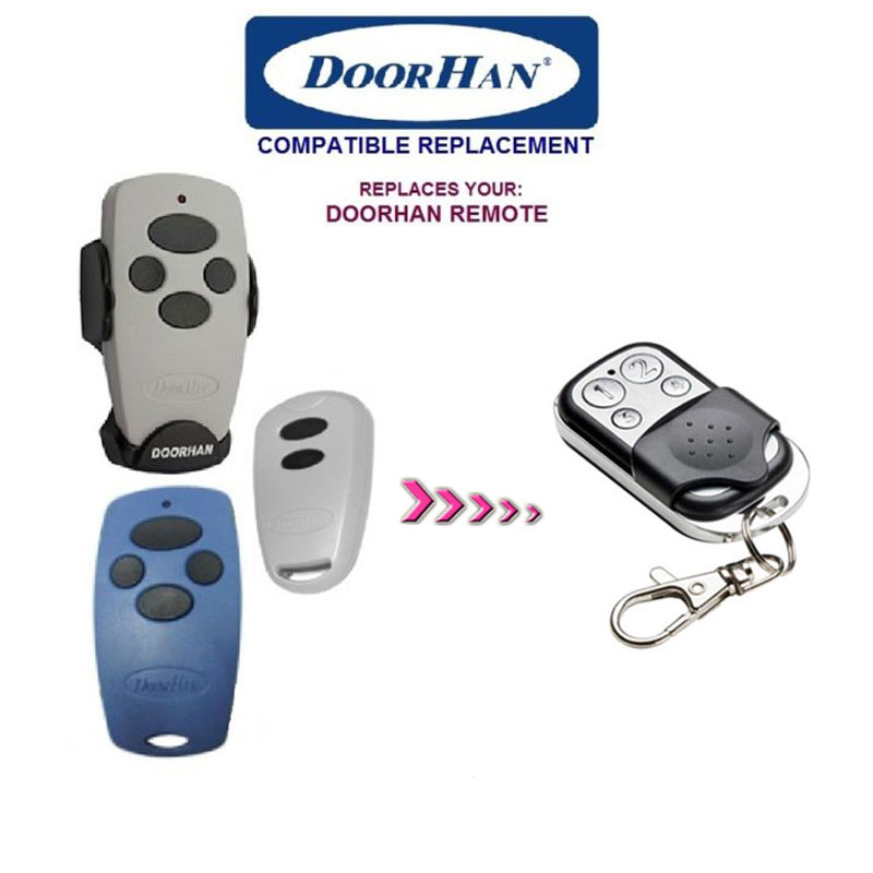 FOR DOORHAN Replacement Rolling Code Remote Control  free shipping