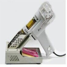 Автоматическая всасывания олова Электрический поглощают пистолет S-998P Электрический Вакуумный Дважды Насос Припоя Sucker Припоя Пистолет 110/220 В 100 Вт