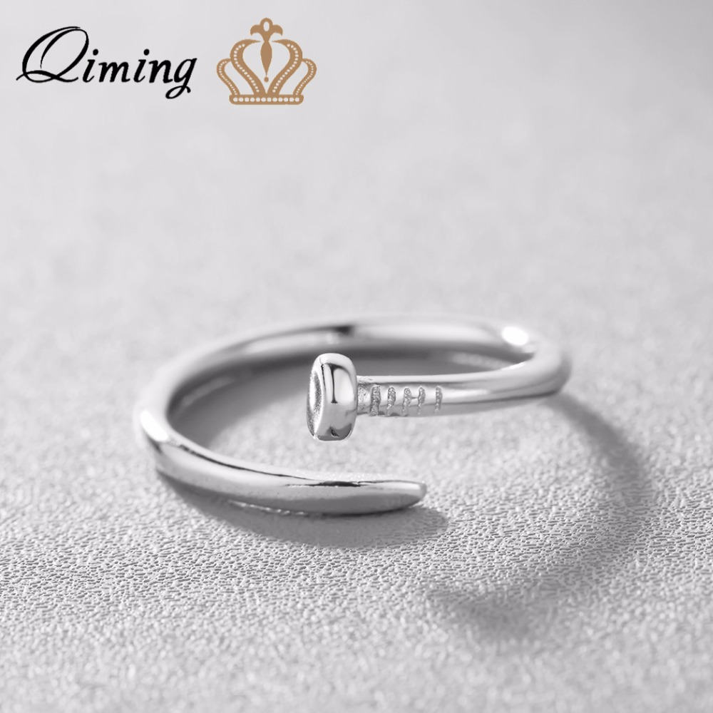 Wostu 2019 Sterling Silver Wave Ring Geometric Zircon Simple Silver Ring Princess Finger Rings For Women Fashion Jewelry Cqr480 Numerous In Variety Back To Search Resultsjewelry & Accessories Engagement Rings