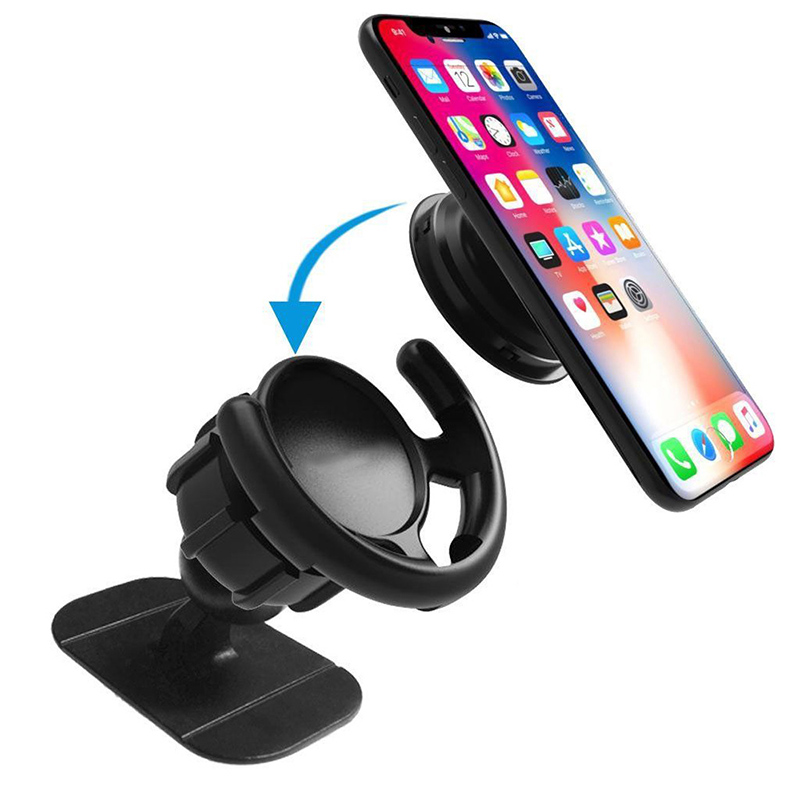 Pop 3M Sticking Socket Car Phone Stand For iPhone X 8 7 Samsung 360 Rotation Mobile Phone Holder Soporte Car Phone Stand Holder