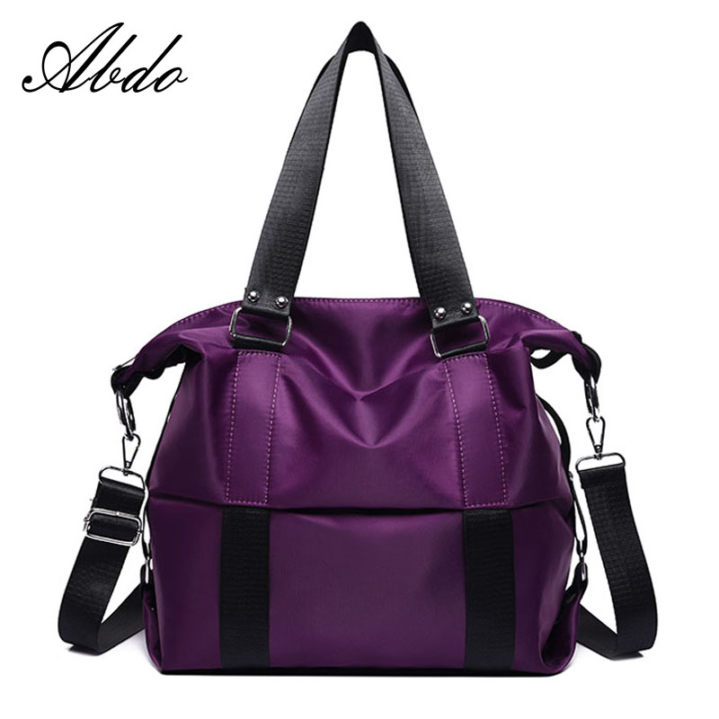 Cloth Handbag Messenger-Bag Travel-Bag Women's Bag Shoulder Large-Capacity Designer-Design