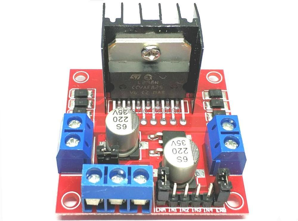 1pcs/lot Special Promotions L298N Motor Driver Board Module L298 For Arduino Stepper Motor Smart Car Robot