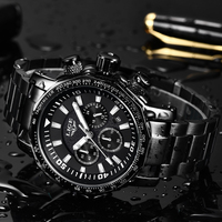 Relogio Masculino Mens Watches LIGE Top Brand Luxury Fashion Quartz Clock Men S Stainless Steel Military