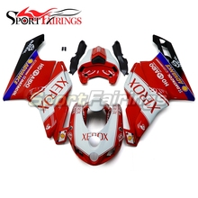 Carenagem completa Kit Para a Ducati 749 999 999 s 749 s Ano 05 06 2005 2006 Motocicleta Sportbike Carroçaria ABS Vermelho Preto Cobertura Completa