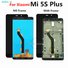 Good quality Lcd For Xiaomi Mi5S Plus LCD Display Touch Screen Digitizer Assembly Replacement mi5s plus lcd