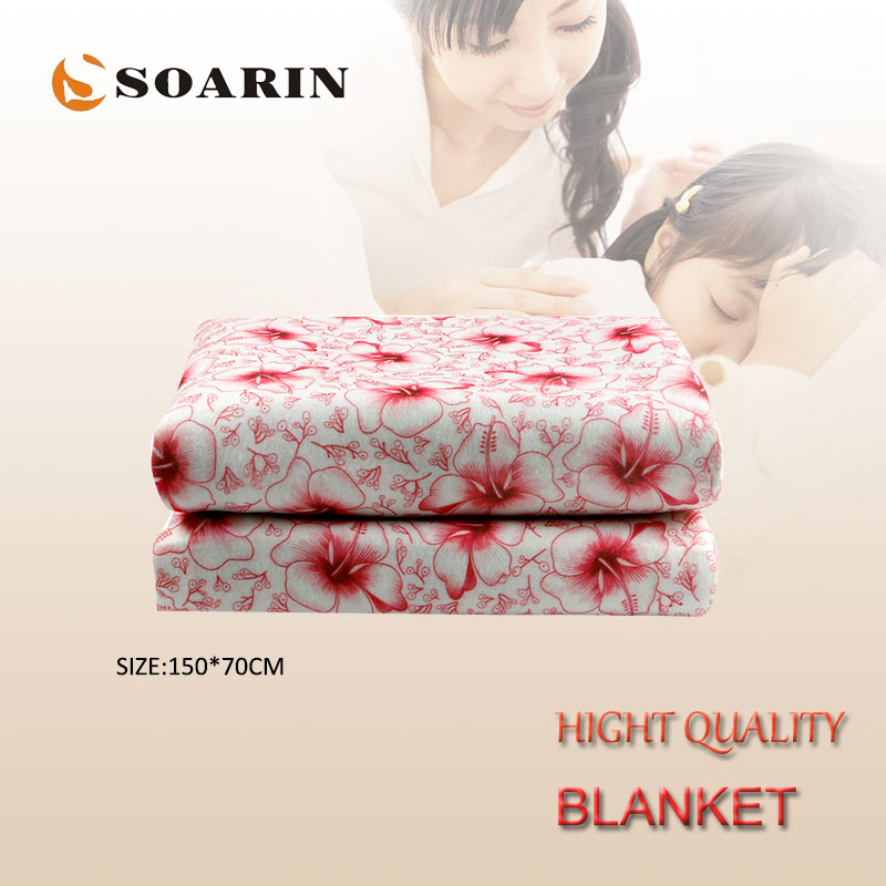 SOARIN Electric Blanket  Electric Heating Blanket 220v Heated Blanket Plush Couverture Chauffante Electrique Mattress