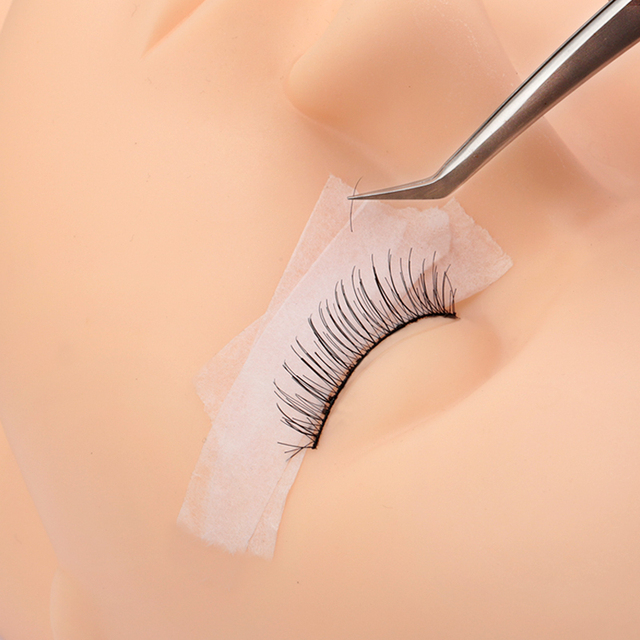 Wholesale breathable easy to tear Medical Tape/White Silk Paper Under Patches Eyelash Extension Supply Eyelash Extension Tape 1