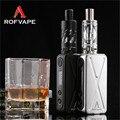 Rofvape A Box Mini Electronic Cigarette kit 50W Box Mod Vape Pen OLED Indicator 8 Protection Functions Mod Box Electronic Hookah