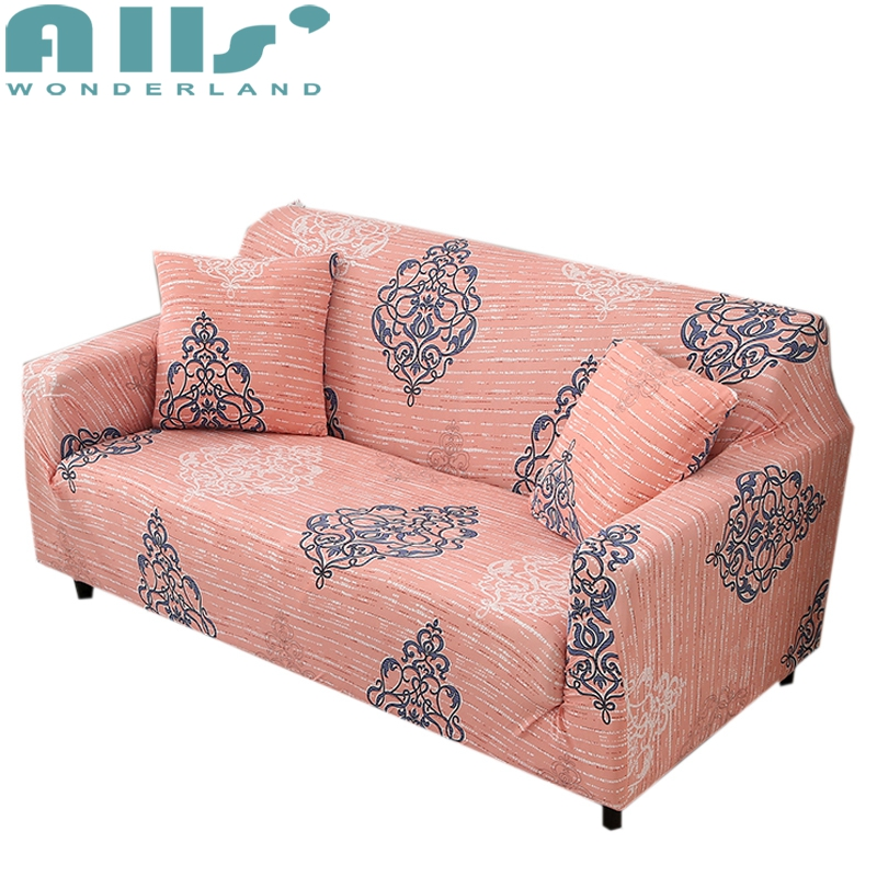 Light tan Stretch Sofa Slipcover couch Covers Chair 1 4 Seater ...