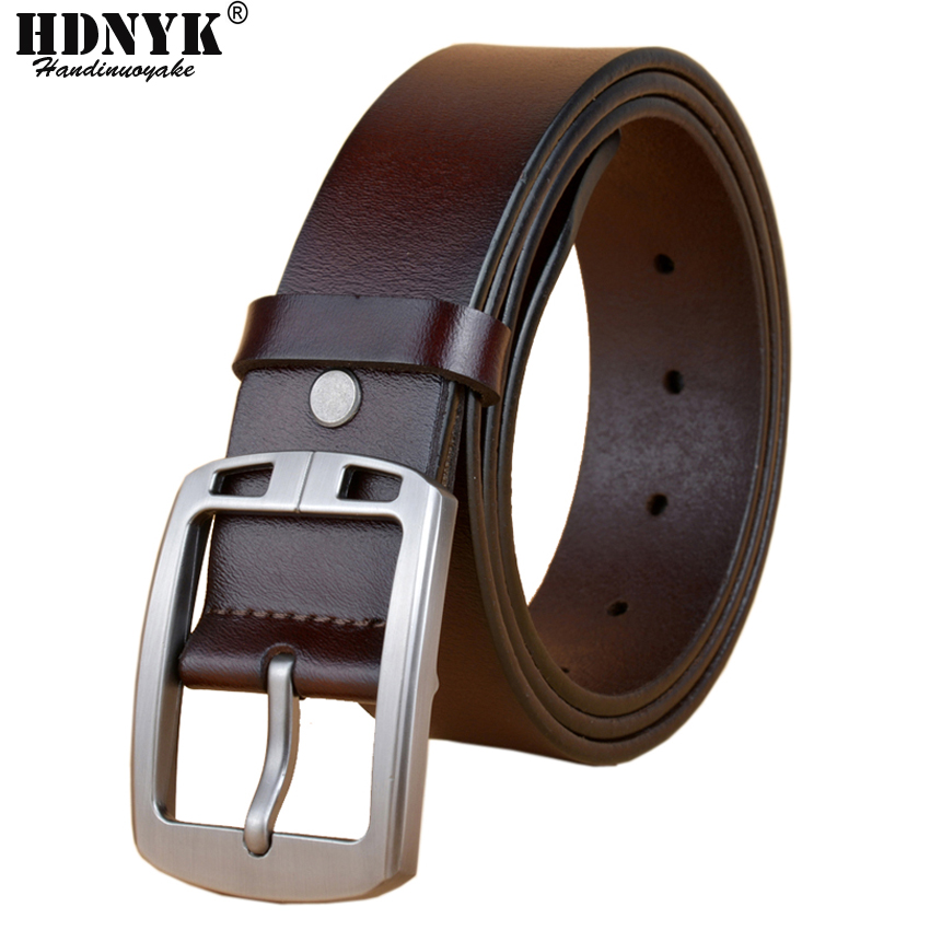 Fanshion Mens Belt Male Strap Pin Buckle Men Genuine Leather Male Belt Casual Hot Chinese Dragon Design Male Waist Strap Apparel Accessories