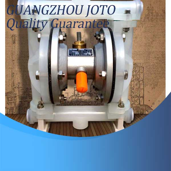QBY-15 Corrosion Resistant Double Way Pneumatic Diaphragm Pump 0-1m3/H 2017 china made qby 40 plastic diaphragm pump 1 2 with f46 diaphragm