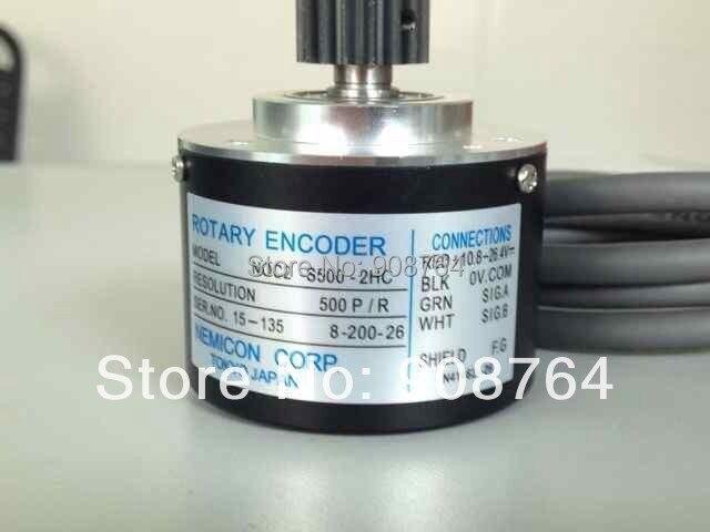 ФОТО M038#  Injection molding machine rotary encoder  CNC veneer lathe machine //lathe cutting machine encoder output 500 pulses