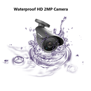 Image 5 - NINIVISION 2MP HD CCTV 1080P AHD  H Camera 3000TVL Outdoor Waterproof Metal Black Bullet IR Security Surveillance Camera