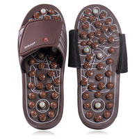 BYRIVER Acupressure Foot Massager Massage Slippers Shoes Reflexology Sandals Relief Plantar Fasciitis Arthritis for Men Women