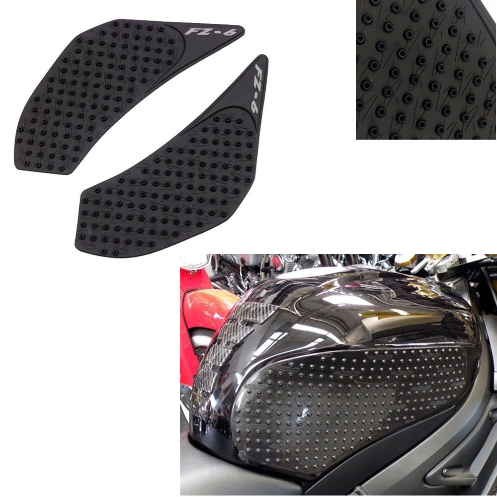 Decals & Stickers For Yamaha Fz6n 2006 2007 2008 2009 2010 Fz 6n Fz6 N Protector Anti Slip Tank Pad Sticker Gas Knee Grip Traction Side 3m Decal For Fast Shipping