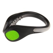 Outdoor Running Cycling Bike LED Luminous Shoe Clip Light Night Safety Warning LED Bright Flash Light