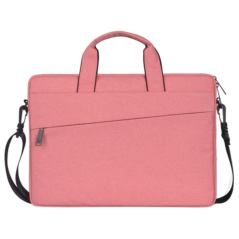 Image 2 - Женская сумка для ноутбука с вкладышем, чехол для Macbook Air Pro retina 13 14 15,6 дюймов, сумка для ноутбука на плечо, сумка для компьютера-in Сумки и чехлы для ноутбука from Компьютер и офис