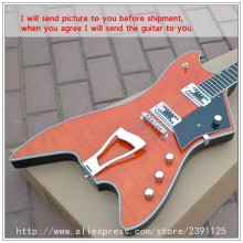 New Brand guitar Custom Orange color High-quality musical instruments oem electric guitar free shipping