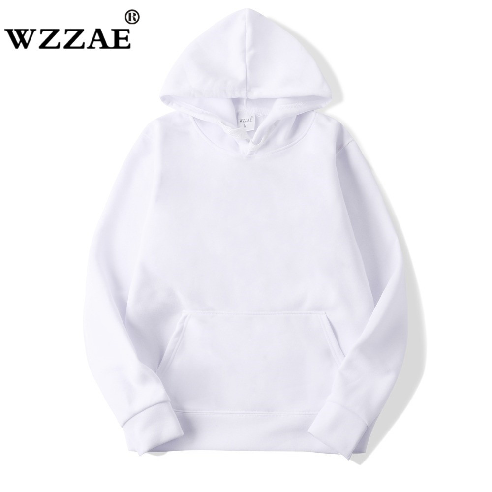 2018 New Casual Pink Black Gray Blue HOODIE Hip Hop Street Wear Sweatshirts Skateboard Men/Woman Pullover Hoodies Male Hoodie(China)