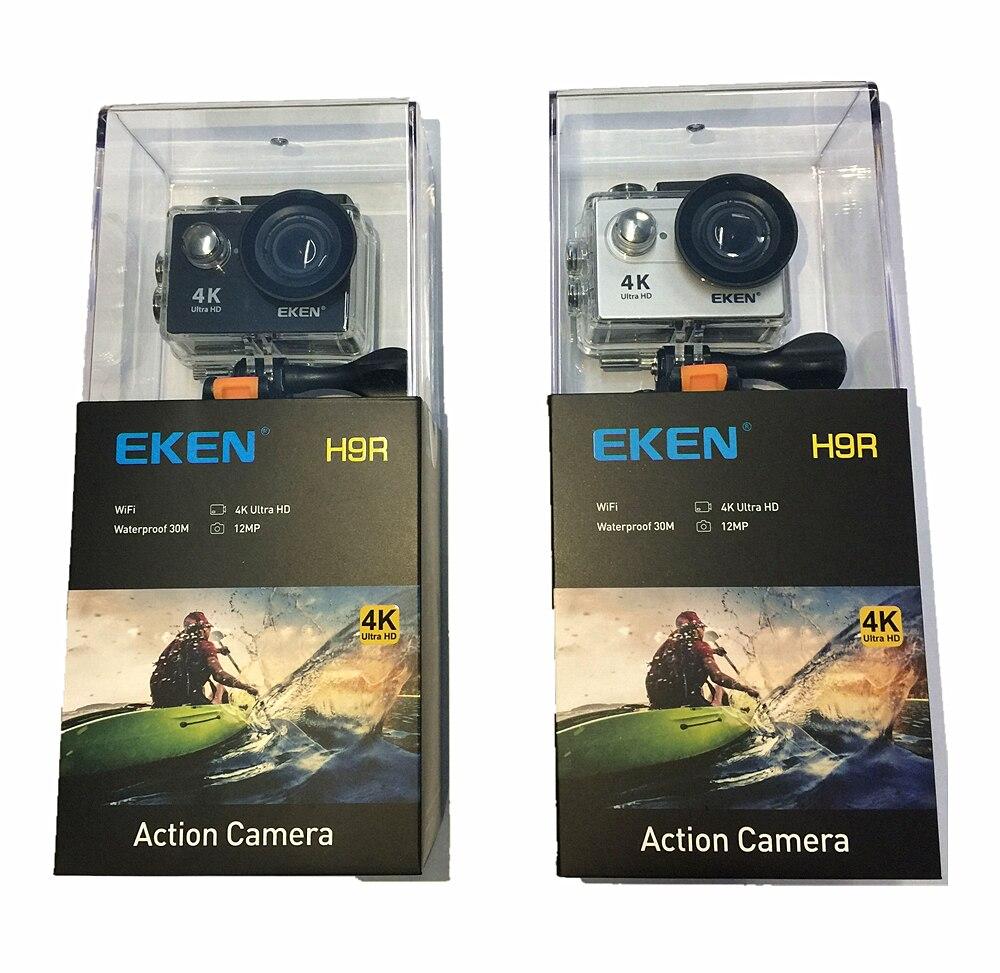 EKEN H9 H9R D'origine D'action caméra Ultra HD 4 k 25fps 1080 p 60fps WiFi 2 170D aller Mini sous-marine étanche Pro Casque Sport cam