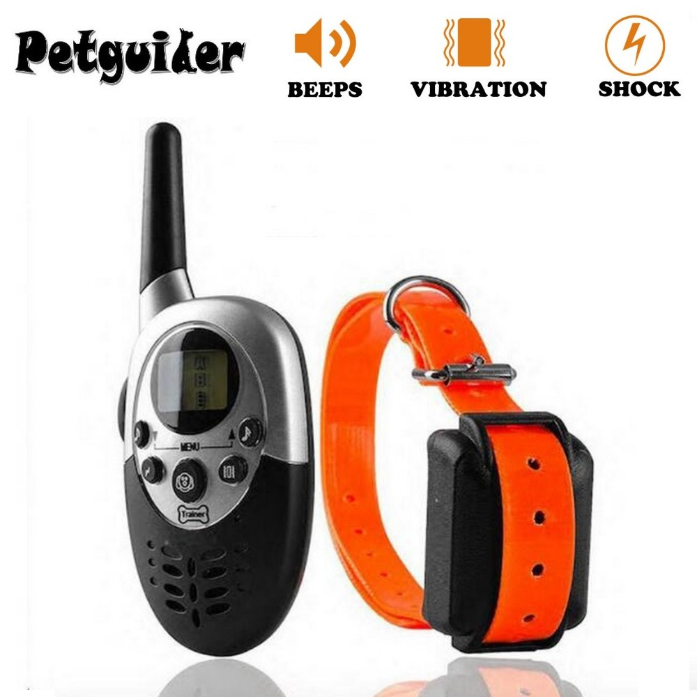 1000M Pet Dog Training Collar Pet Training Collar Dog Trainer Waterproof Rechargeable Remote Electric Shock Dog Control