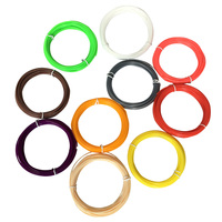 3D Pen Filament thread 1.75mm ABS pla 10 Different Color red+white+blue+yellow+blue+black+purple+brown+skin for 3D printing pens 3D Printing Materials